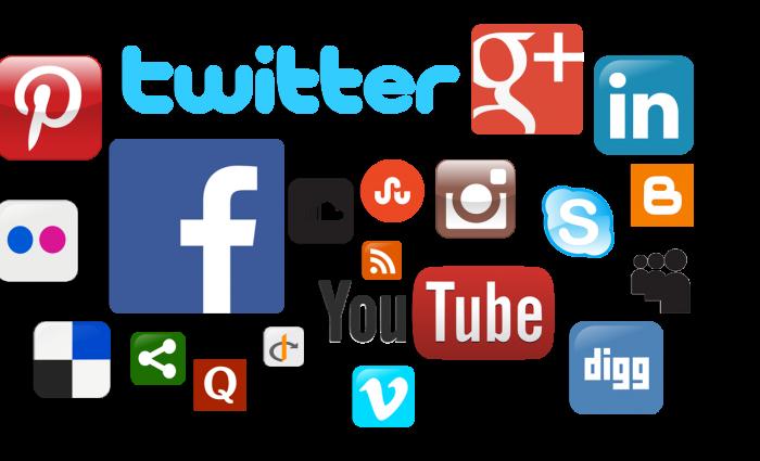 Список популярных соцсетей